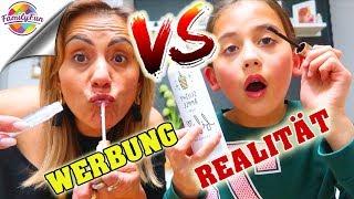 WERBUNG VS. REALITÄT DM Produkte 🙄LIVE TEST UNFALL mit BILOU SCHAUM - Botox Lippen - Family Fun