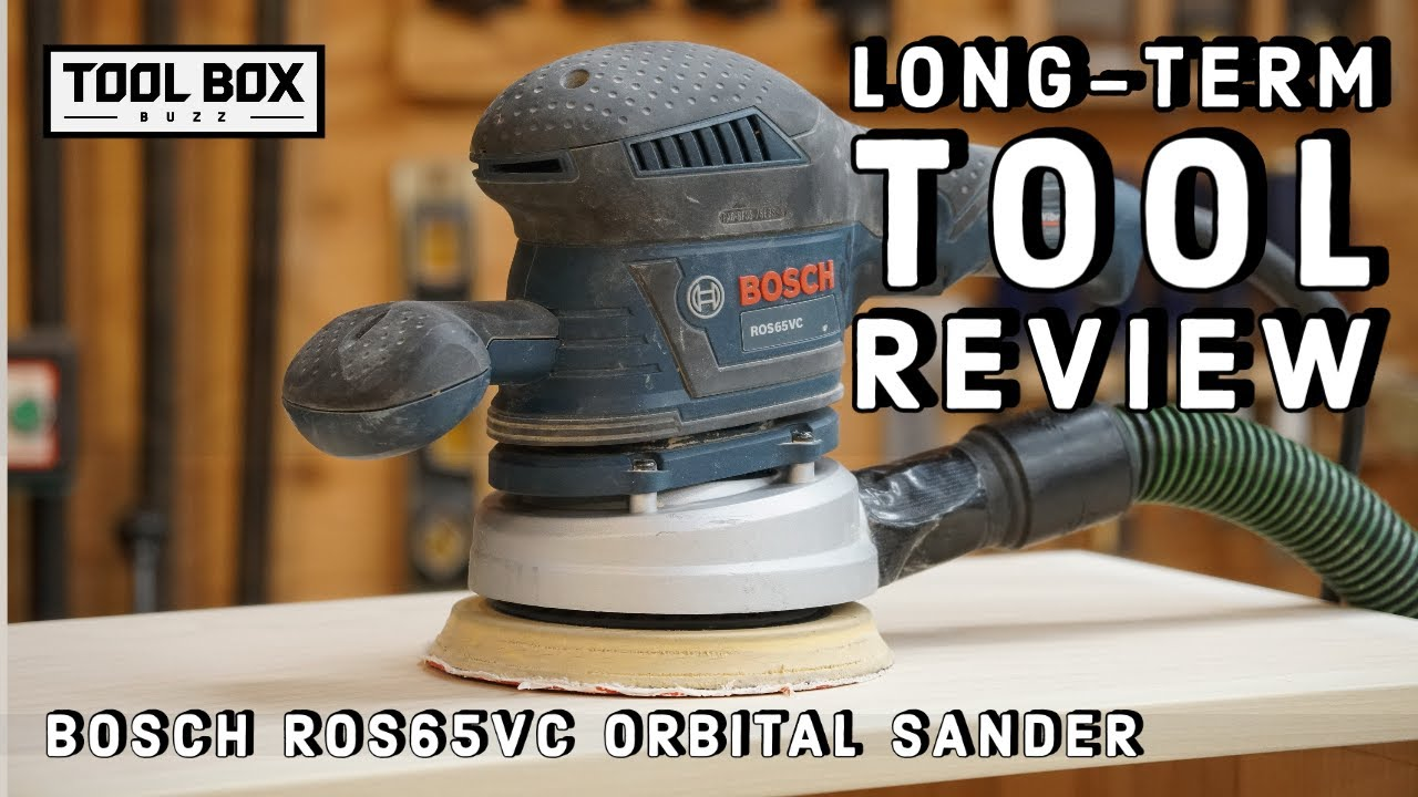 Bosch Ros65vc 6 Inch Random Orbital Sander Long Term Review Youtube