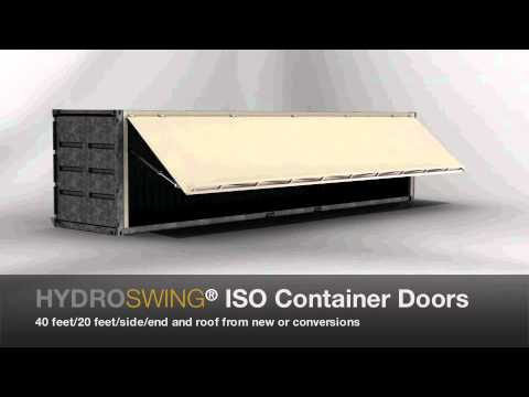 Hydroswing® ISO Container Door & Hydroswing® ISO Container Door - YouTube pezcame.com