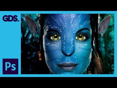 Epic Avatar Photoshop Tutorial - HD