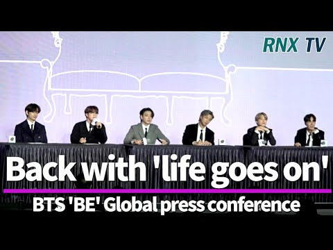 201120 BTS, Back with 'life goes on' - RNX tv