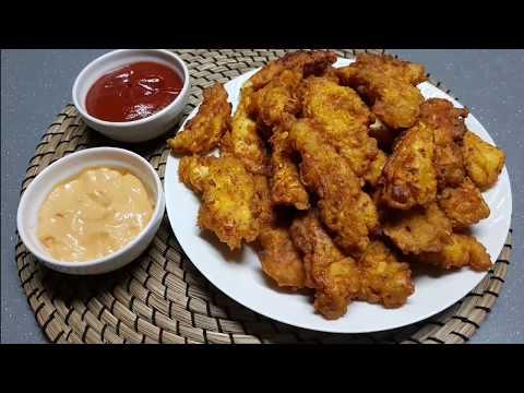 poulet-express-en-10-mn-très-croustillant-et-facile-دجاج-في-10-دقائق