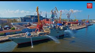 USC — the largest shipbuilding company in Russia: naval equipment