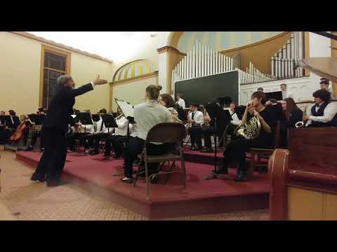 St Johnsbury Academy Band Christmas Sing-Along