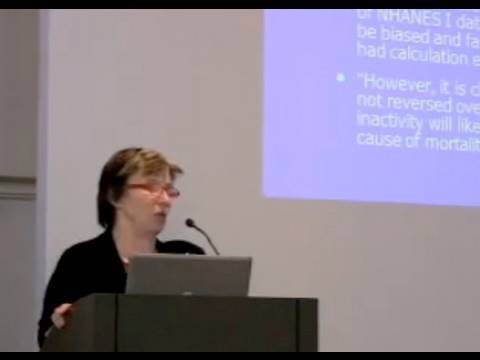 Katherine M. Flegal, Weight and Mortality:  The Population Perspective