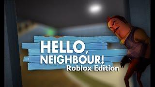 MI VECINO ESTA LOCO!!! /HELLO NEIGHBOR /ROBLOX /EP.1. |DOGG2.0