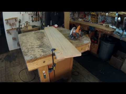 Furniture Making Technique -- Warped Wood Fix