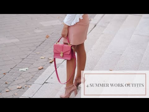 4 SUMMER WORK OUTFITS | SUMMER OFFICE LOOKBOOK | GAL ON DUTY
