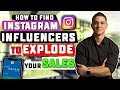 How To Find Instagram Influencers To Explode Your eCommerce Sales (BRAND NEW!)