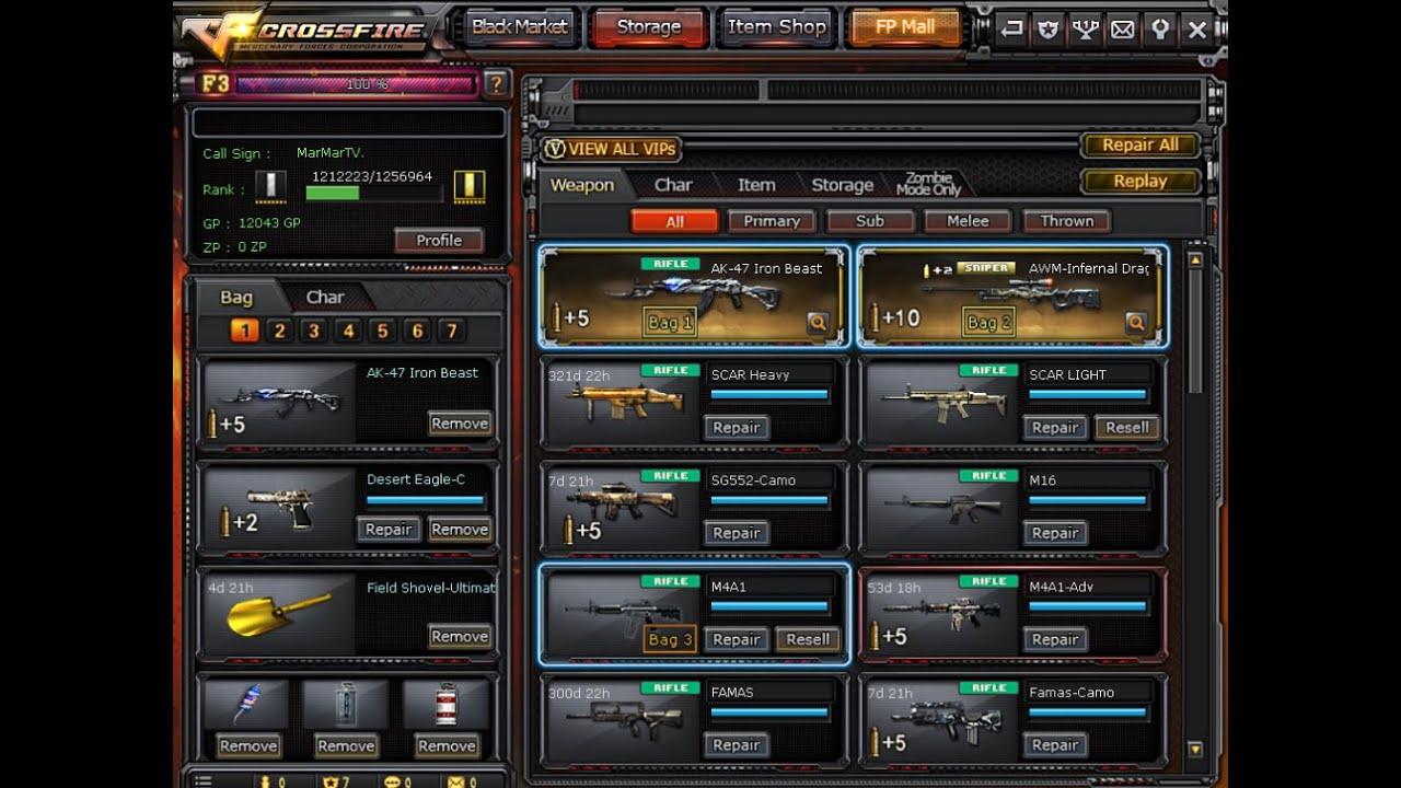 Crossfire - FREE VIP ACCOUNT (2 VIP)