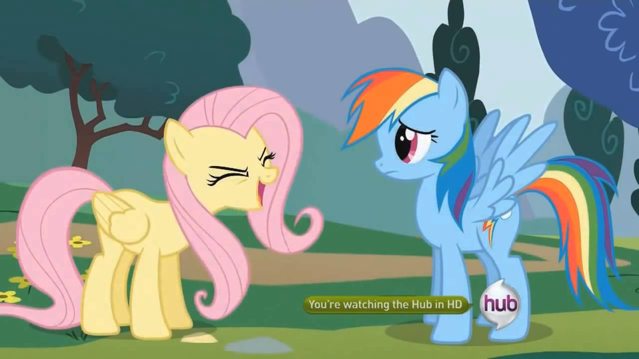Fluttershy Writes Sonic And Rainbow Dash Fanfiction