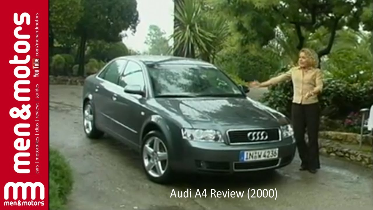 Audi A4 Review (2000) - YouTube
