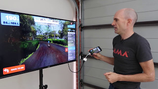 Indoor Cycling Setup Tips: Allcam TR940 Tripod TV Floor Stand