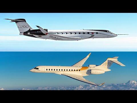 ACJ A220 vs Gulfstream G700 vs Bombardier G7500