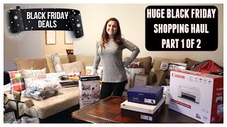 Black Friday Shopping Haul Part 1 2018 l My Black Friday Finds