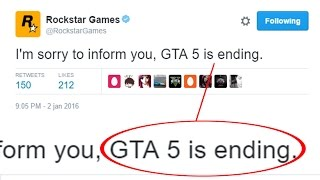 GTA 5 IS ENDING.. this is why
