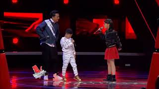 Video Kim & Gilbert - Yess (Agnez Mo Ft.Eza Yayang) The Voice Kids Indonesia Season 2 GTV 2017 download MP3, 3GP, MP4, WEBM, AVI, FLV April 2018