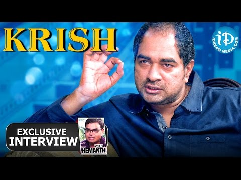 Kanche Movie || Director Krish Exclusive Interview || Talking Movies With iDream # 29