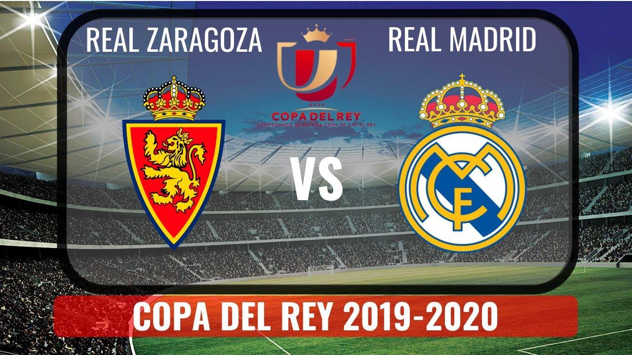 Real Zaragoza vs. Real Madrid - Reporte del Partido - 29 enero ...