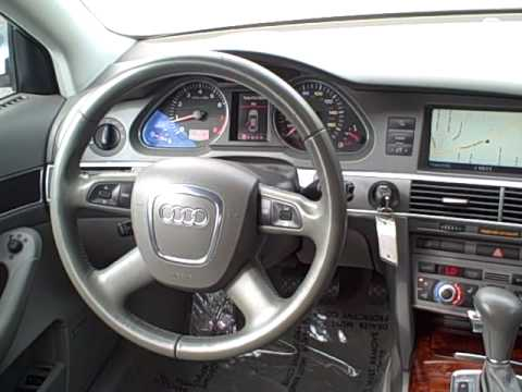 2006 audi a6 3.2l quattro sedan *leather*moon roof* ron tonkin