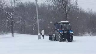 ..вКраматорске..21.01.2019..девушка и трактор..