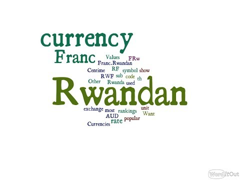 Rwandan Currency - Franc