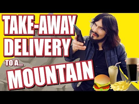Irish Person Orders the First Takeaway to a Mountain Top!