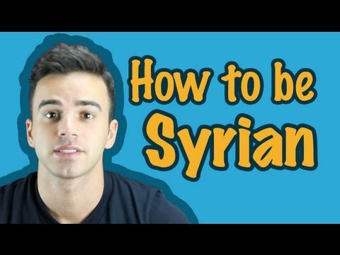 How to be Syrian