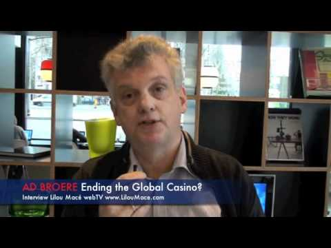 Ad Broere author of Ending the Global Casino - Netherlands