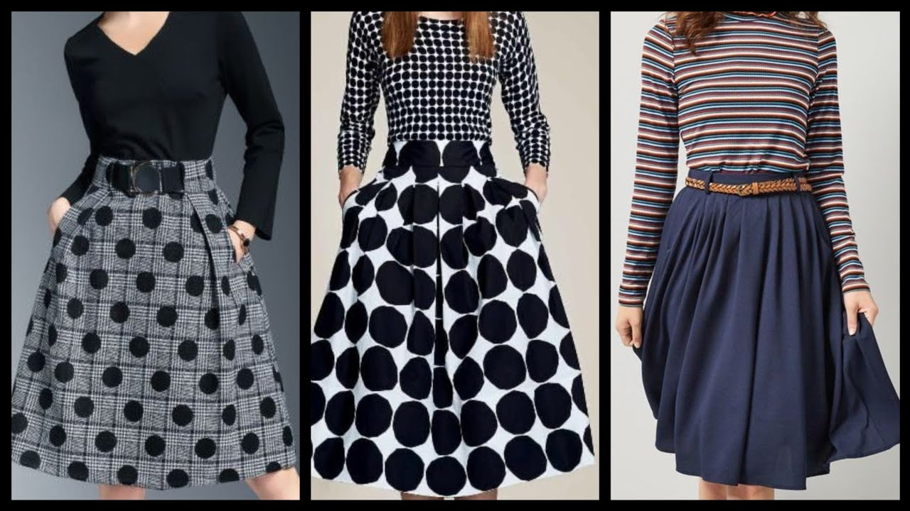 Latest Winter Dress Outfit ideas for women 2021 awesome collection - Midi Skirts designs ideas