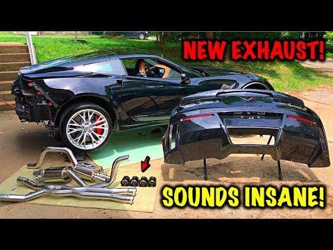 Rebuilding A Wrecked 2017 Corvette Z06 Part 13