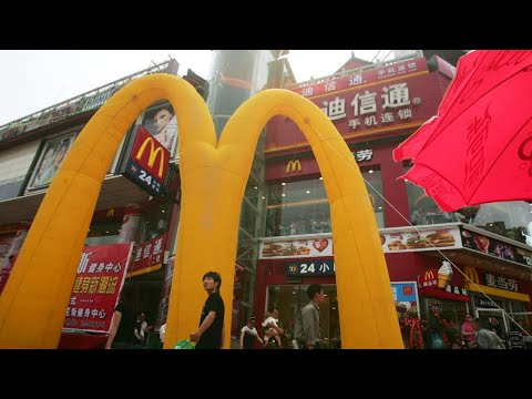 McDonald's changes its official name in China