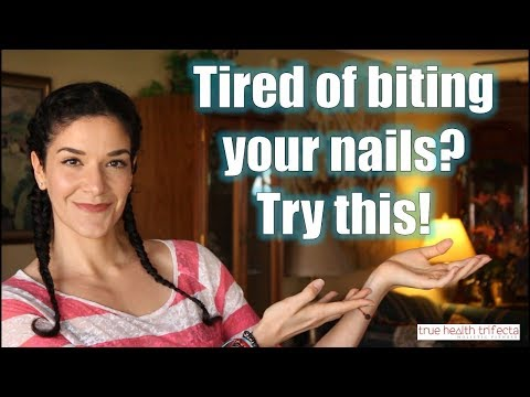 How to STOP biting your nails FAST! - Stress Relief / EFT / Cat Lady Fitness
