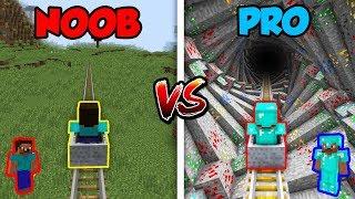 Minecraft NOOB vs. PRO: ROLLERCOASTER 2! | AVM Shorts Animation