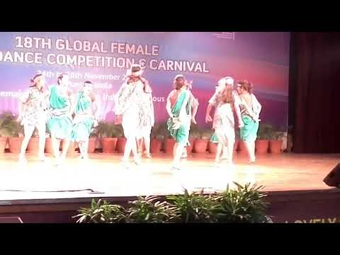 Allons performance at Global Female Folk Dance Competition Carnival