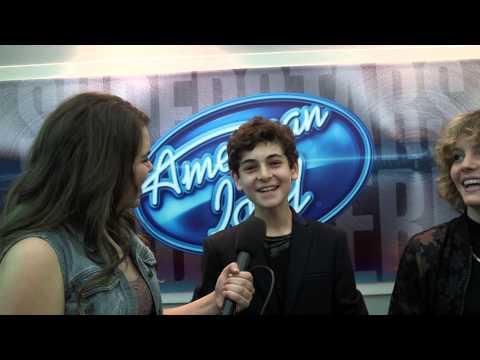 David Mazouz & Camren Bicondova Interview - American Idol 2015 Lex 24/7!
