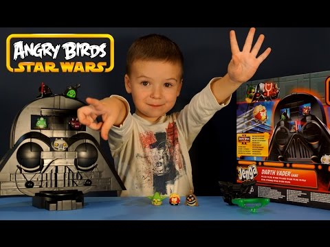 Angry Birds Star Wars: Luke & Leia - first gameplay!