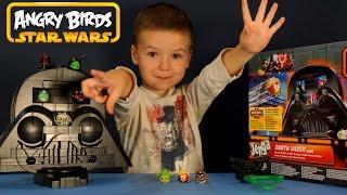 Игрушки Энгри Бёрдс Стар Варс 2 на русском. Angry Birds Star Wars Jenga Darth Vader