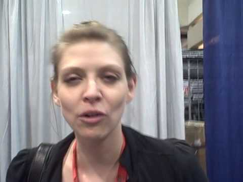 Amber Benson on The Hitchhiker's GT the Galaxy & Eoin Colfer