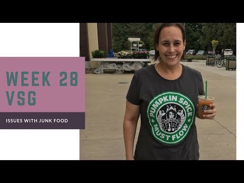 VSG Week 28/Issues With Junk Food