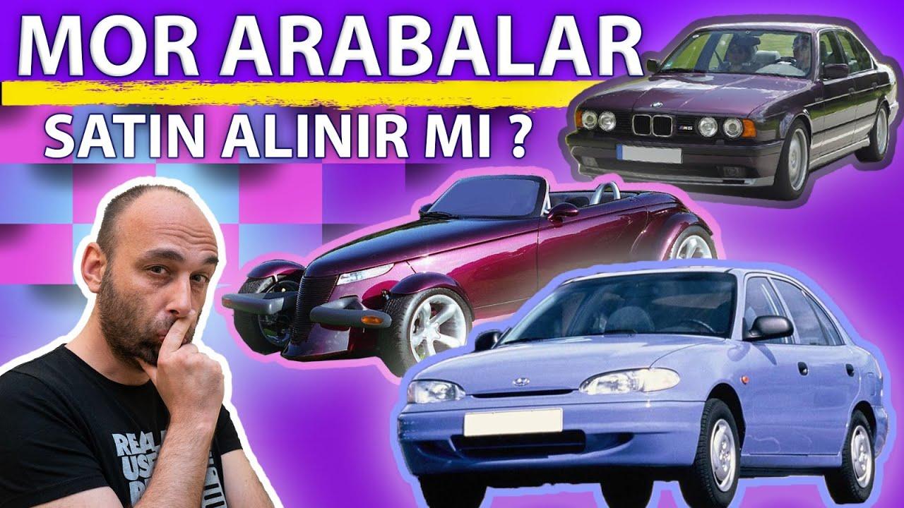 Mor Otomobil Satın Alır Mısınız Ya Da Kullanır Mısınız? / Mor Arabalar Özel Dosyası