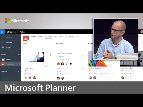 Microsoft Planner – User experience and integration with Office 365 apps