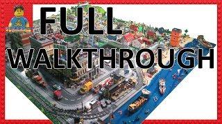 Full Walkthrough Of My Entire LEGO City --- Huge LEGO City Layout