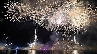 Sydney, Dubai, Moskau: Feuerwerk zum neuen Jahr rund um die Welt