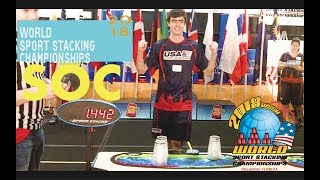 Stack of Champions Highlights (SOC)   World Sport Stacking Championships 2018