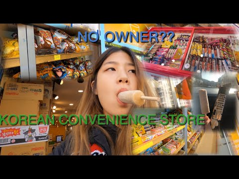 KOREAN CONVENIENCE STORE TOUR IN SEOUL W/ NO WORKERS