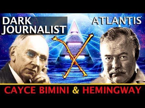DARK JOURNALIST X-SERIES 37: ATLANTIS RISING CAYCE JFK HEMINGWAY MYSTERY! SPECIAL GUEST GIGI YOUNG