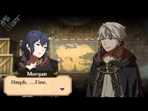 Fire Emblem Awakening - Male Avatar (My Unit) & Morgan (Female) Support Conversations