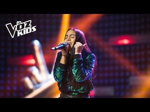 Diana K canta Ven Conmigo - Audiciones a ciegas | La Voz Kids Colombia 2018