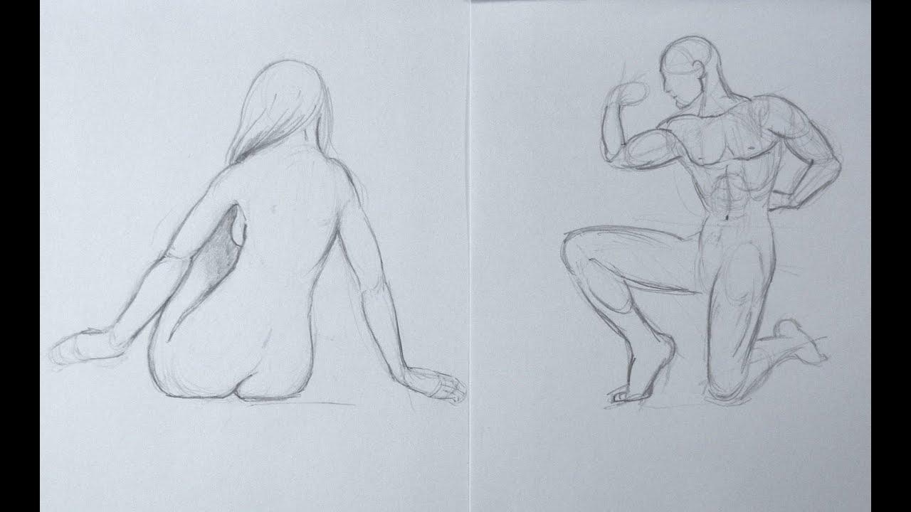 Cmo dibujar la figura de la imaginacin y de memoria Parte 2